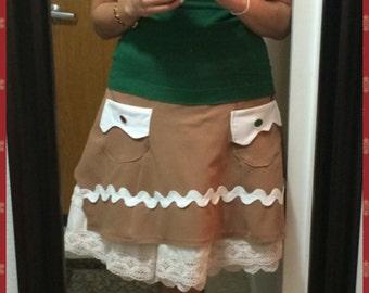 Gingerbread Skirt