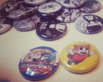 20 inch Scott Pilgrim vs The World button pins
