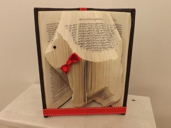 livre de chien scottie pliage origami. Black Bedroom Furniture Sets. Home Design Ideas