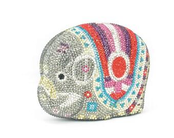Kaderidge Crystal Elephant Clutch