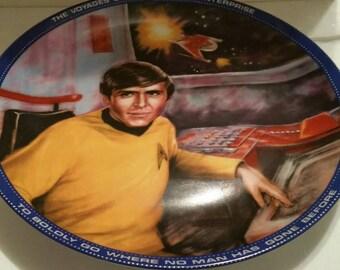 Star Trek Chekov Ensign Plate
