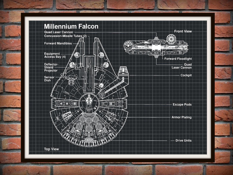 Wall schematic engineering diagram