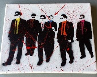 Reservoir dogs canvas 8x10