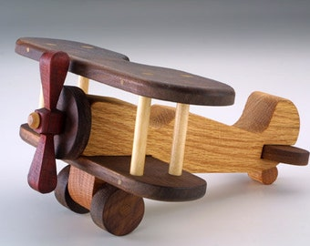 Wood Airplane wood toys