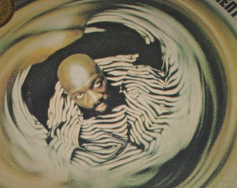"1970's  Isaac Hayes 33 1/2 Vinyl Record Enterprise Records "" The Isaac Hayes Movement""/Stax Records Rhythm & Blues Isaac Hayes Rap"