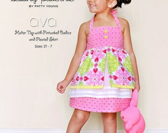 SALE AVA Sewing Pattern by Patty Young for ModKid