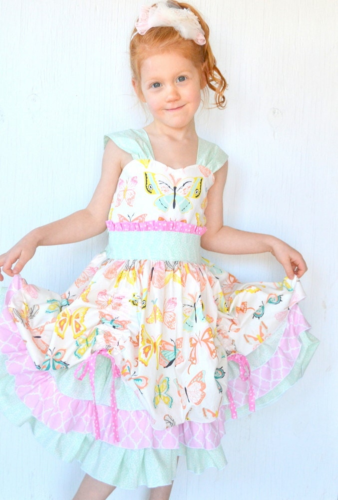 Little Girls Dress Baby Girl Dresses Fancy Girls by ...