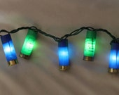 Seahawks Shotgun Shell Party Lights- Set of 35 lights (9 feet total).