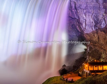 Niagara Falls - Horseshoe Falls - Ontario, Canada - New York, United States - Waterfall - Landscape Photograph - Fine Art Print