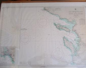 France, West Coast - Les Sables-D'Olonne to Pointe de la Coubre - Nautical Chart 2214