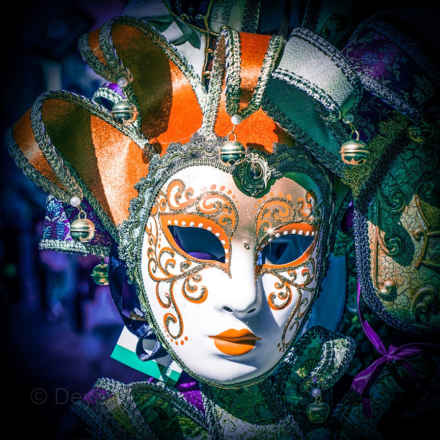 Mask Decorating Ideas: Venetian Carnival Mask. Decorating Ideas By