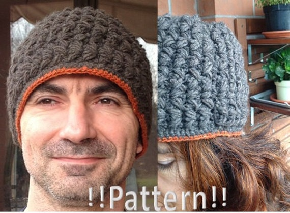 Puffy Maxi Beanie Crochet Pattern, warm for him and her, great gift for Valentine's day,you can wear the same beanie together