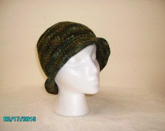 Multi-colored Crochet hats
