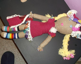 Girly Girl Doll Holds all Your Hair accessories