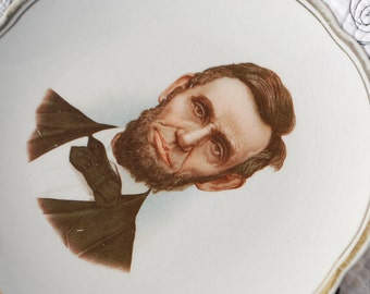 Vintage Lincoln Collector Plate