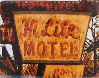 Hi Lite Motel canvas