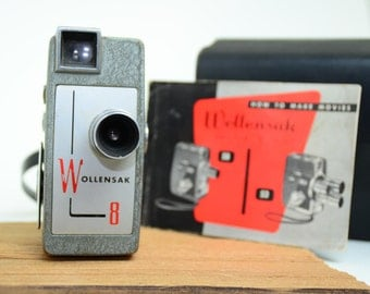 Wollensak Roll Film Eight 58 Vintage Camera