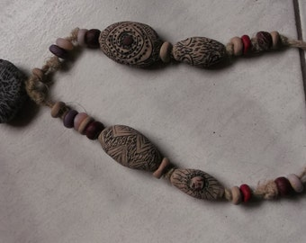 handmade polimer clay necklace,free Shipping