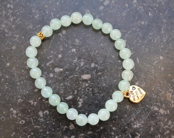 Green Aventurine bracelet 6mm beads