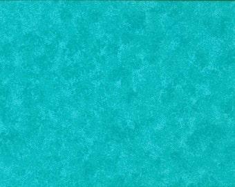 Turquoise Makower Spraytime Cotton Fabric