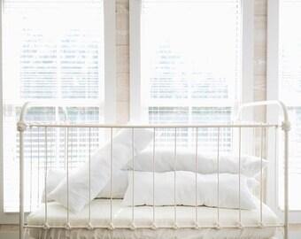 Handmade 100% Cotton Pillow-Style Bumper Inserts