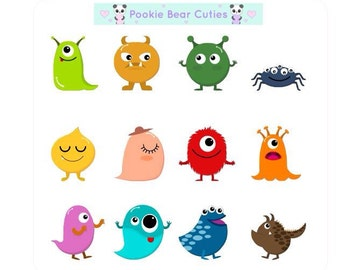 Cute Monsters Stickers-0160