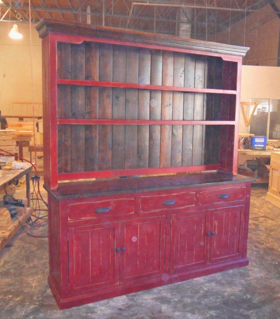 Sideboard Server Buffet Hutch And Reclaimed Wood