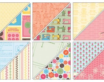 """Sweet Stitches DSP Paper Share 6"""" x 6"""""""