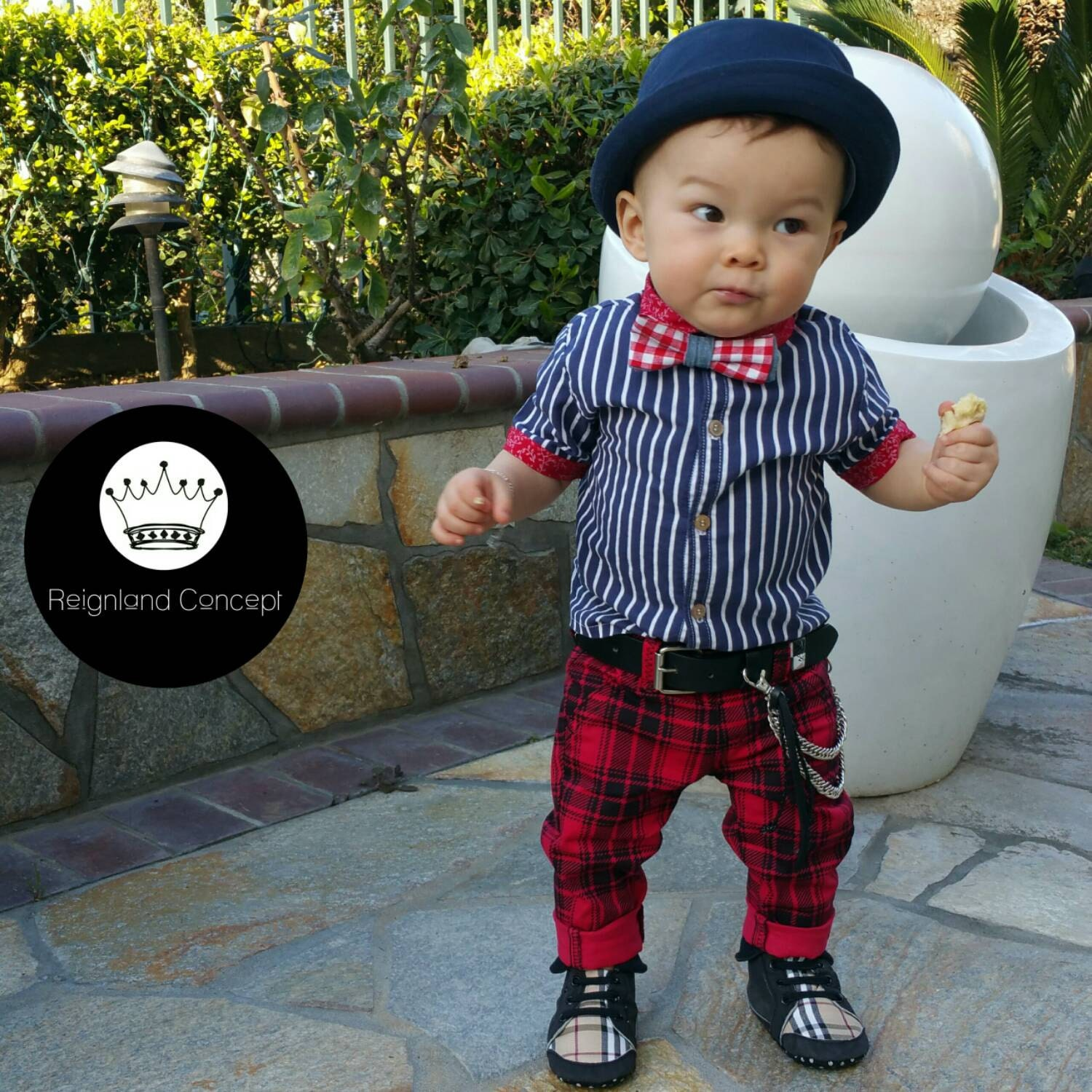 Hip trendy baby clothing Unique style kids fashion baby