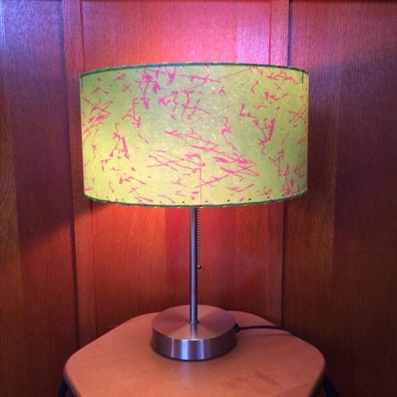 mid century modern style fiberglass lamp shade 43 2. Black Bedroom Furniture Sets. Home Design Ideas