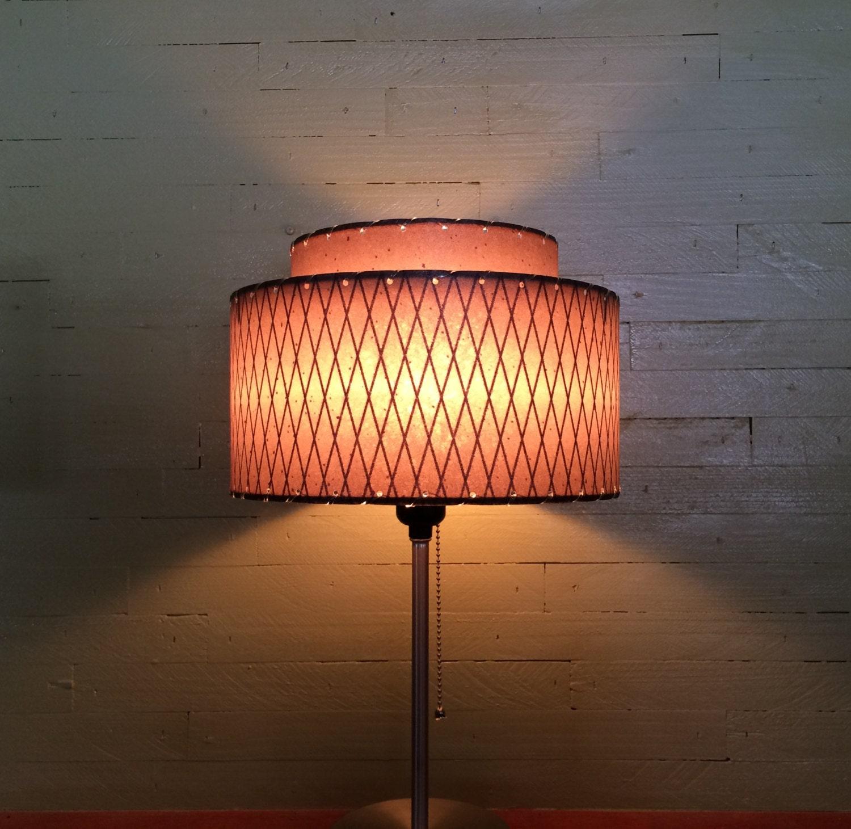 mid century modern style fiberglass lamp shade 2t 46 0. Black Bedroom Furniture Sets. Home Design Ideas