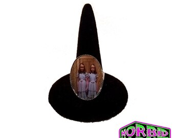 The Grady Girls The Shining Twins Adjustable Horror Ring