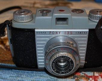 1950 Kodak 135 Pony Camera