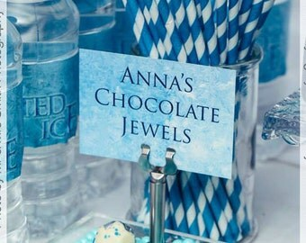 Frozen Buffet Tags for your Frozen Style Party