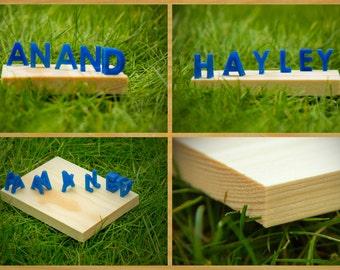 Personalised 3D printed ambigram (standard)