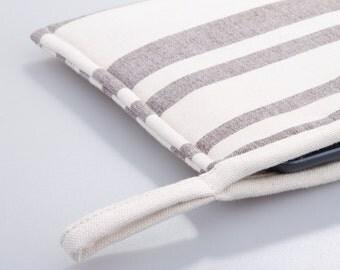 iPad Mini Case. Padded Linen Cover.