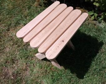 Adirondack Table, Folding