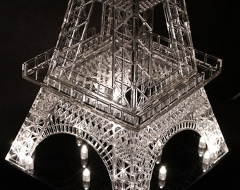Eiffel Tower 3D Model.