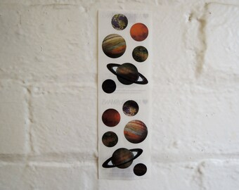 Planets Stickers.