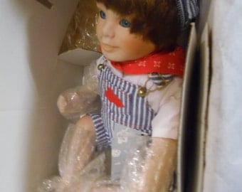 Ashton Drake  Andy from Yesterday's dreams by Edwin M. Knowles doll
