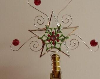 items similar to mini christmas tree bunting on etsy. Black Bedroom Furniture Sets. Home Design Ideas