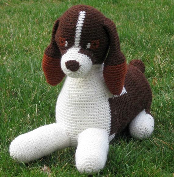 Tilly the Springer Spaniel pattern