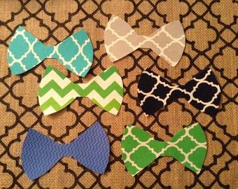 DIY iron on applique bow ties