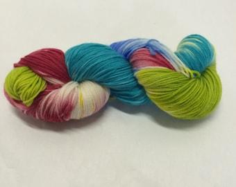 Hand Dyed Sock Yarn - Girls Just Wanna Have Phun!