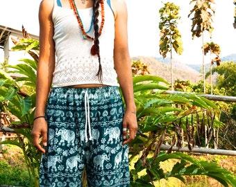 Elephant Pants // Harem pants // Hippie Pants // Boho Pants // Festival Clothing // Yoga Pants // Meditation Pants // Hippie Chic Pants