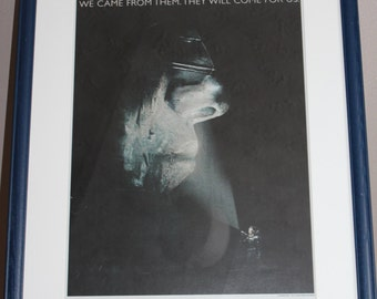 Genuine Prometheus poster We came from them. They will come for us. Director Ridley scott