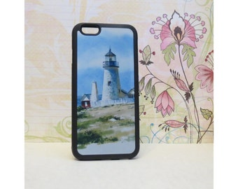 Lighthouse #1 - Case for iPhone 6/6S Rubber TPU
