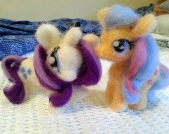 Needle felted My Little Pony