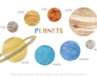 RoyaltyFree RF Illustrations amp Clipart of Planets 8
