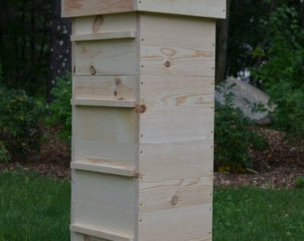 Warre Bee hive w/ Windows ( Newly constructed warre bee hive, Great organic way to raise bees.)